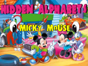Mickey Mouse Games Alphabets